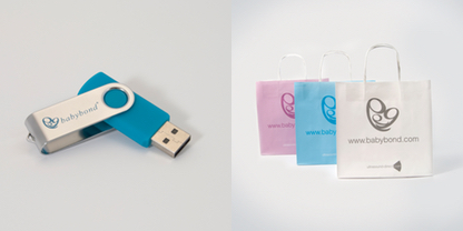 1GB USB and bags example
