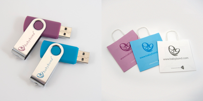 4 & 1GB USB and bags example