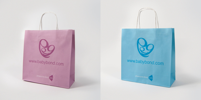 blue and pink bag example