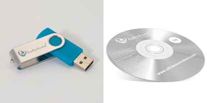 USB and CD example