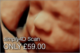 Babybond <i>simply</i>4D scan - only £59.00 at The Baby Show