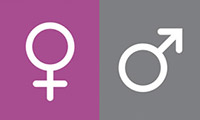 girl or boy symbols