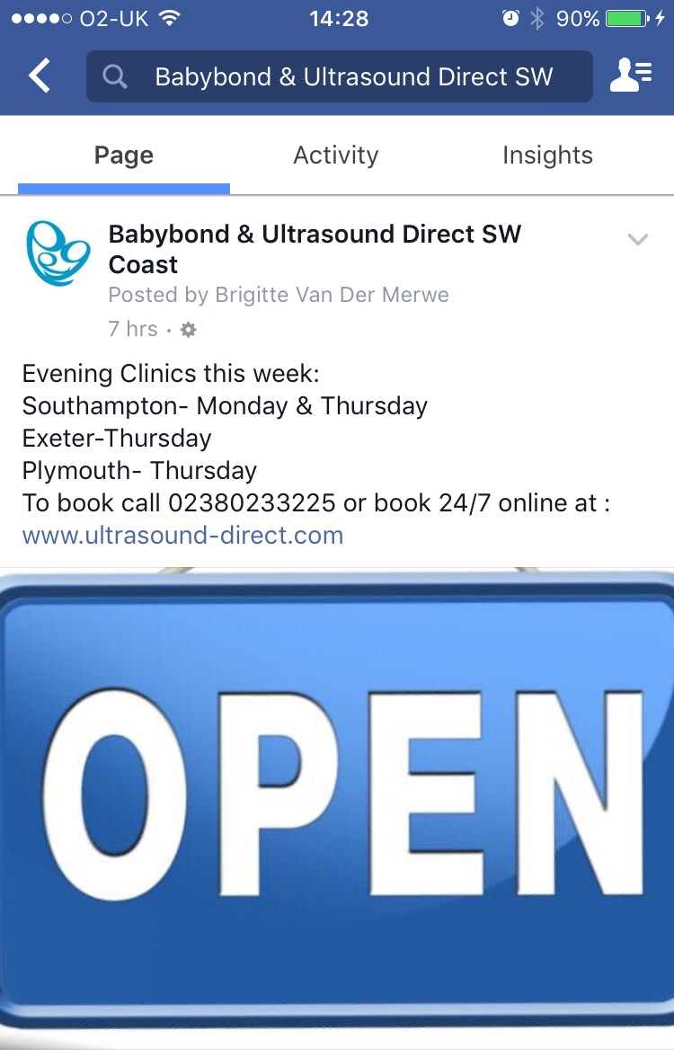 CLINIC EVENINGS THIS WEEK