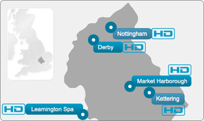 Midlands Ultrasound Direct locations
