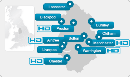 North West Ultrasound Direct locations