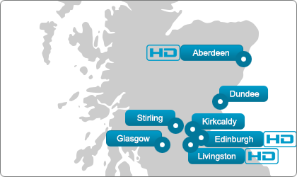 Scotland Ultrasound Direct locations