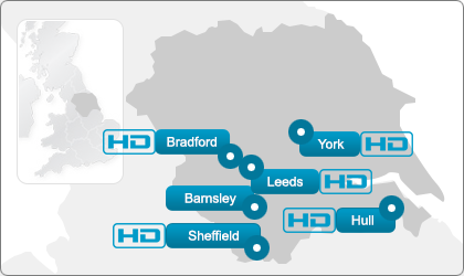 Yorkshire Ultrasound Direct locations